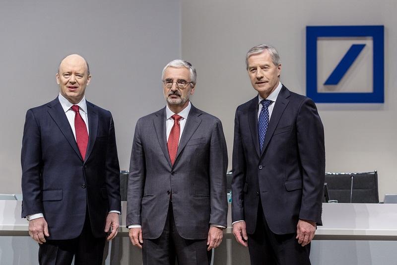 John Cryan, Paul Achleitner, Jürgen Fitschen